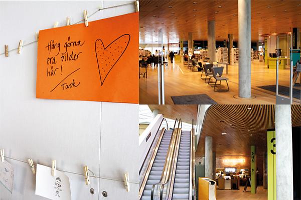 Utvecklingsprojekt Kulturhuset Väven sträcker sig högt över andra hus i centrala Umeå och breder ut sig över ett helt kvarter. Tillsammans med Konsthögskolan vid Umeå universitet, Högskolans nya campus och Bildmuseet, är Väven en del av ett större stadsutvecklingsprojekt där bland annat en strandpromenad växt fram längs Umeälven. Foto: Helén Andersson