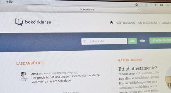 Bokcirklar.se i ny regi