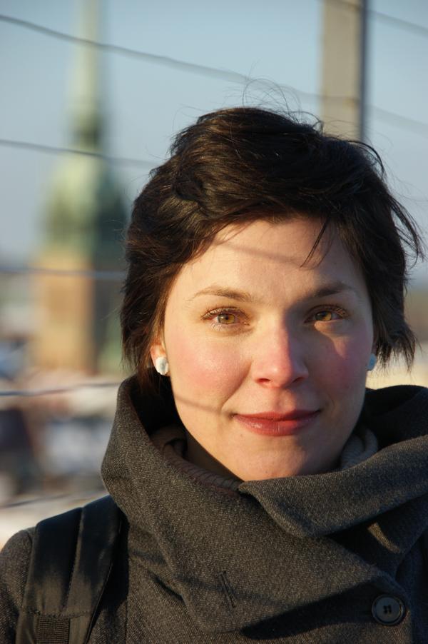 Alexandra Borg är forskare i litteraturvetenskap vid Uppsala universitet. Hon menar att ljudböcker kan vara en ingång till läsning. Foto: Urban Björstadius.