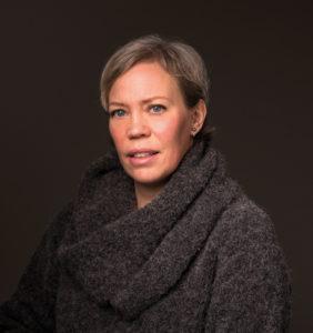 Ljudböcker Anna Öqvist Ragnar, förläggare på Storytel, har varit med och tagit fram de nya ljudboksserierna. Foto: Elisabeth Ohlson Wallin.
