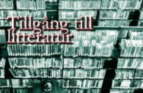 noll27 nr 1 – Tillgång till litteratur
