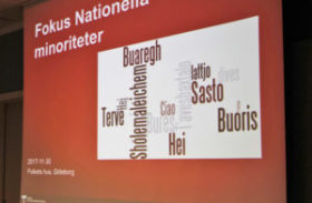 Fokus på nationella minoriteter