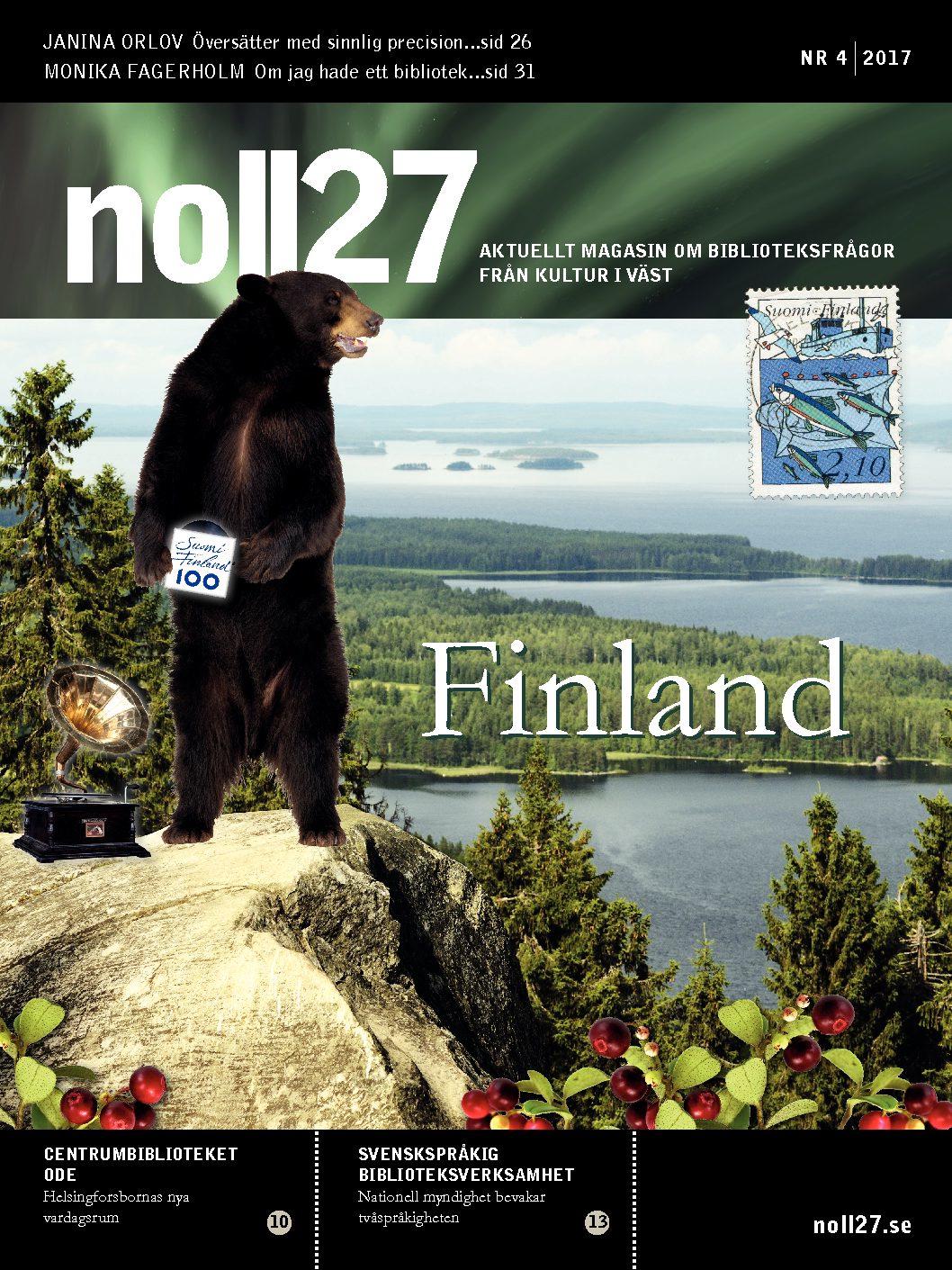 Sidan ett noll27 nr 4 2018 - Finland