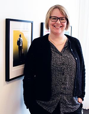 Genomlysning Eleonor Grenholm menar att självskattningstestet ger en genomlysning av folkbibliotekens digitala kompetens där verksamhetsperspektivet är prioriterat. – Utgångspunkten med ett självskattningstest runt digital kompetens är att kartlägga personalens kompetenser för att kunna identifiera kunskapsluckor. Bild: Helén Andersson