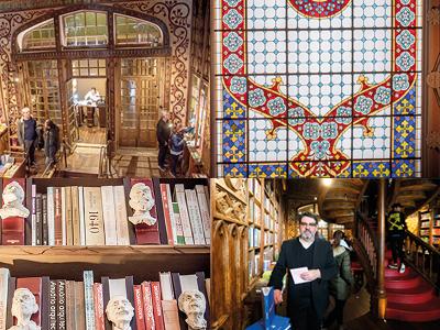 Hogwartinspirerat I Staden Portu köar turisterna till bokhandeln Livraria Lello. Till stor del beror detta på att det var här Harry Potterförfattaren J.K Rowlings tillbringade mycket tid när hon arbetade som lärare i staden. Det sägs också att bokhandeln inspirerat henne till miljön i Hogwartbiblioteket i böckerna om Harry Potter. – Anledningen till det stora intresset för Livraria Lello är dels att bokhandeln är vacker med hängande lyktor, blyinfattat takfönster, snidade trappor och sirliga väggutsmyckningar. Men kanske främst för att J.K.Rowling hade sin spirituella hemvist här, säger Manuel de Sousa, kommunikationschef vid Livraria Lello.