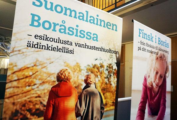 Borås tar höjd för de finska frågorna