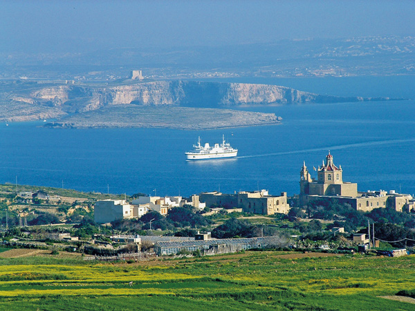 Utblick – Volontärer förvaltar Maltas historiska arv