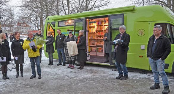 Kungsbacka – Årets mobila bibliotek 2018