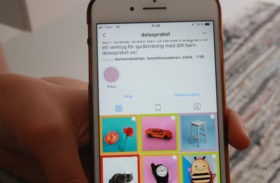 Instagram för språkutveckling