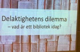 Kulturpolitik och bibliotekets roll i fokus