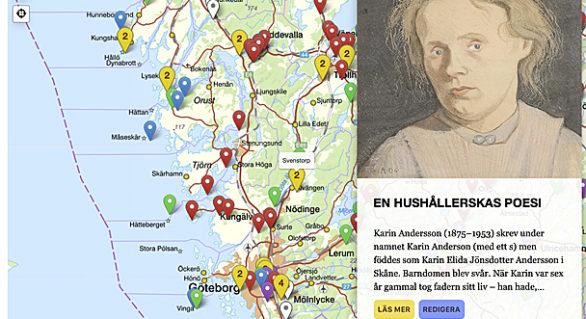Ny västsvensk litteraturkarta