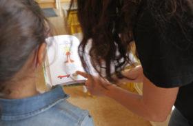 Barnbibliotekarier och barnen