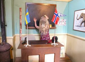 Klassrum från utställningen