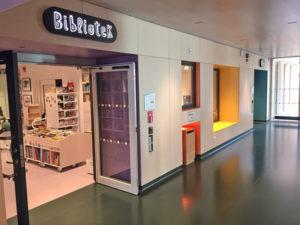 Entré till BUS-biblioteket
