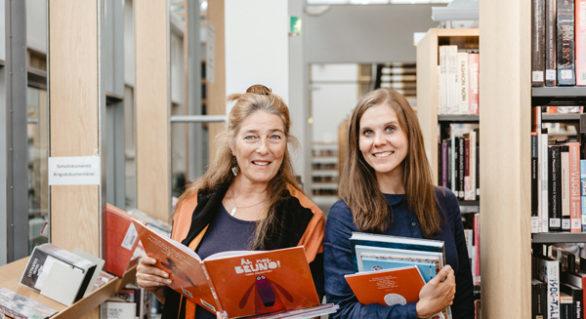 Man läser i Finland